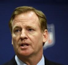 NFL Commissioner Roger Goodell dodged a sniper today